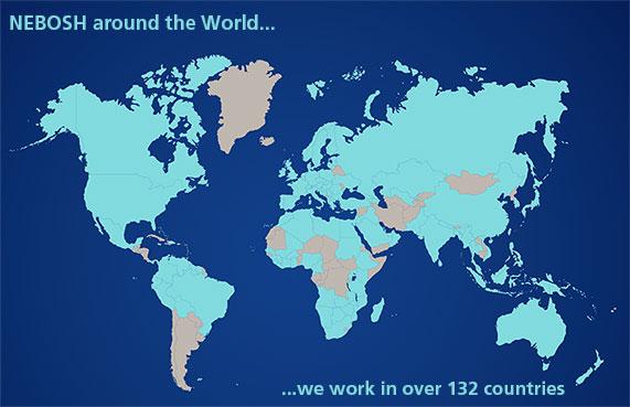 NEBOSH Global Map