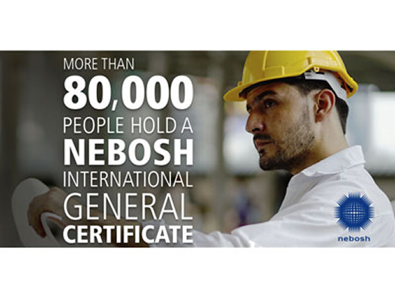 80,000 people achieve NEBOSH International General Certificate