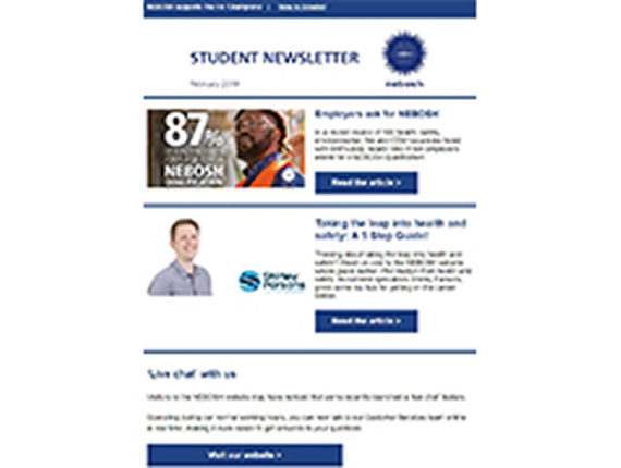 NEBOSH Student Newsletter February 2019