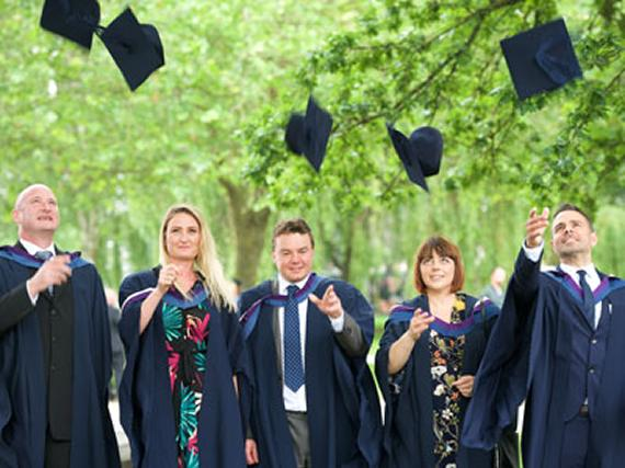 """You are my heroes!"": NEBOSH Graduation and Awards Celebrations"