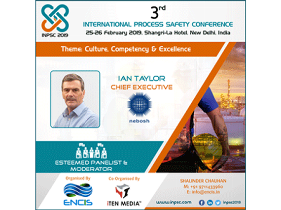 NEBOSH to visit India for flagship process safety conference