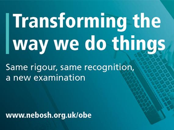 NEBOSH announces first open book examinations